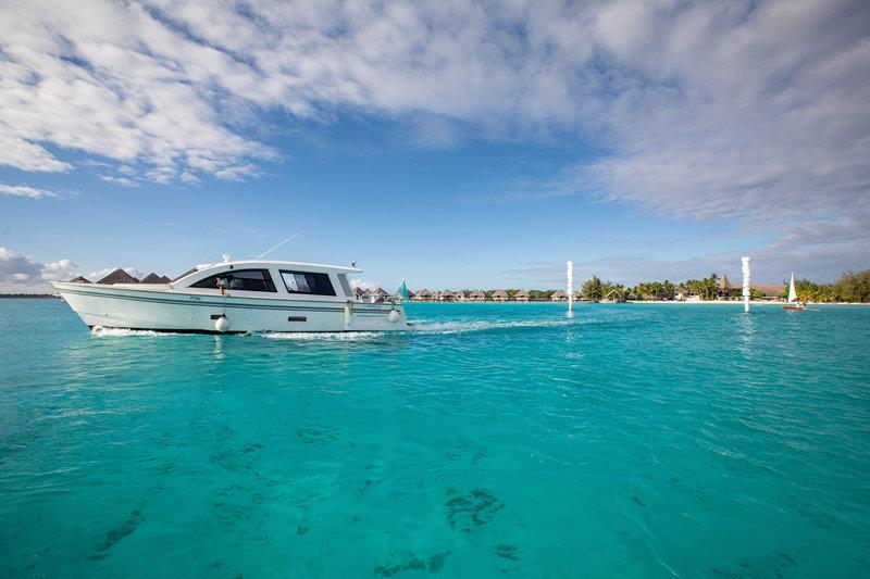 Le Meridien Bora Bora - Arrival Zone <br/>Image from Leonardo