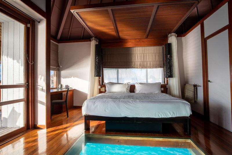 Le Meridien Bora Bora - King Guest Room <br/>Image from Leonardo