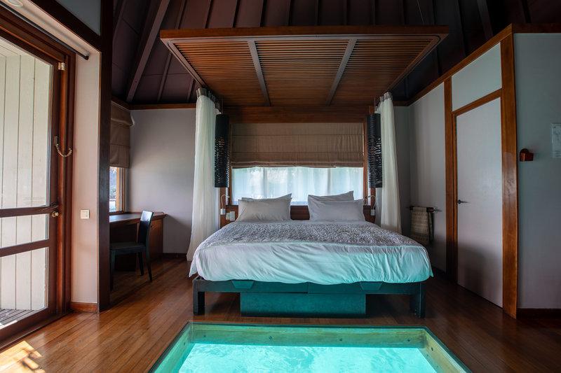 Le Meridien Bora Bora - King Overwater Lagoon Bungalow <br/>Image from Leonardo