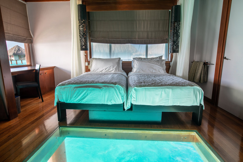 Le Meridien Bora Bora - Twin/Twin Overwater Bungalow <br/>Image from Leonardo