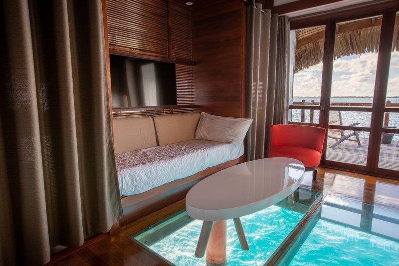 Le Meridien Bora Bora - Overwater Guest Room <br/>Image from Leonardo