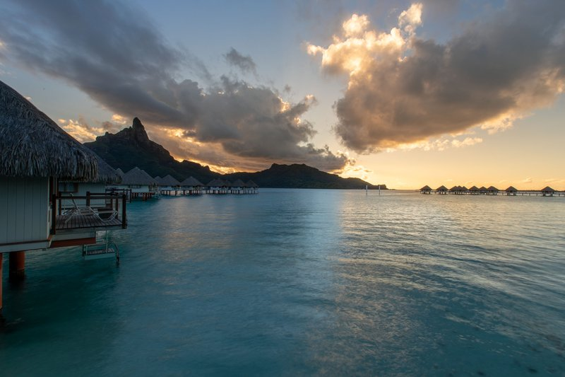 Le Meridien Bora Bora - Classic Bungalow <br/>Image from Leonardo
