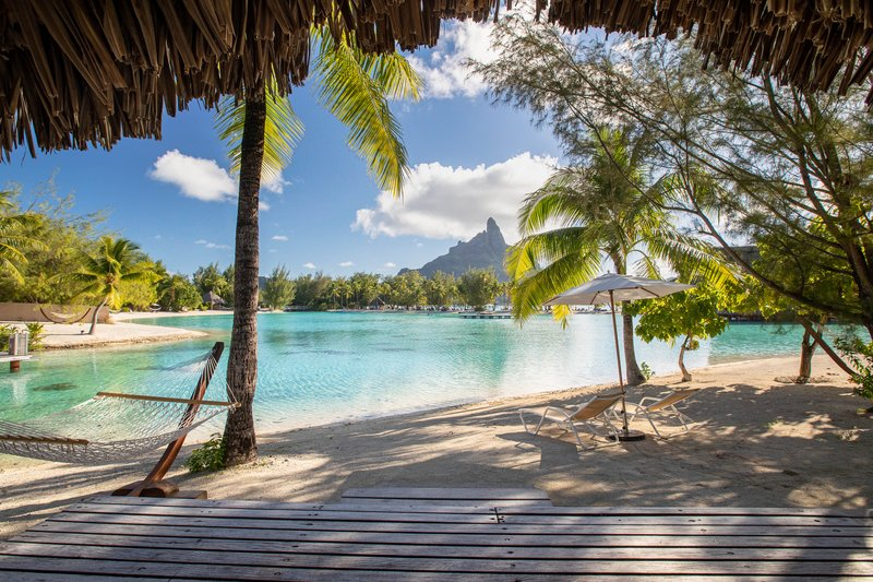 Le Meridien Bora Bora - Beach Bungalow <br/>Image from Leonardo
