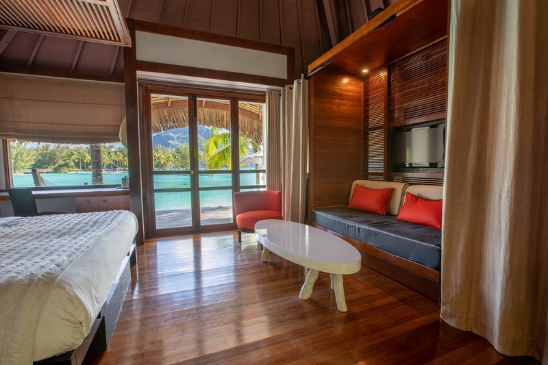 Le Meridien Bora Bora - King Overwater Guest Room <br/>Image from Leonardo