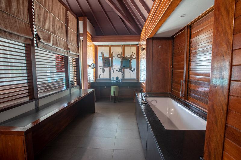 Le Meridien Bora Bora - Pool Beach Villa Bathroom <br/>Image from Leonardo