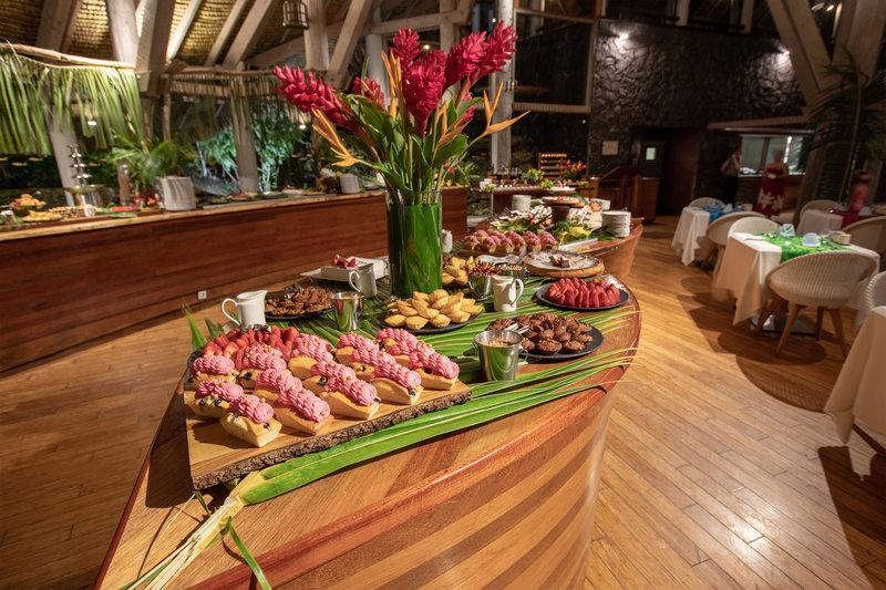 Le Meridien Bora Bora - Le Tipanié - Polynesian Buffet <br/>Image from Leonardo