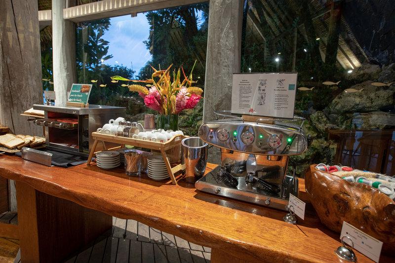 Le Meridien Bora Bora - Le Tipanié - Breakfast <br/>Image from Leonardo