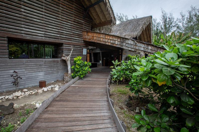 Le Meridien Bora Bora - Turtle Center <br/>Image from Leonardo