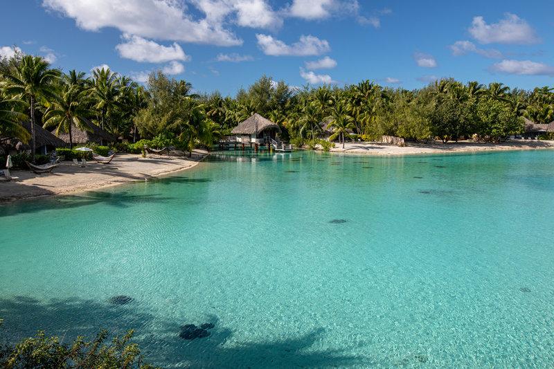 Le Meridien Bora Bora - View Of The Inner Lagoon <br/>Image from Leonardo