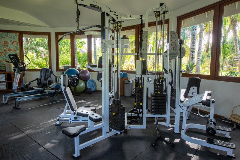 Le Meridien Bora Bora - Fitness Center <br/>Image from Leonardo