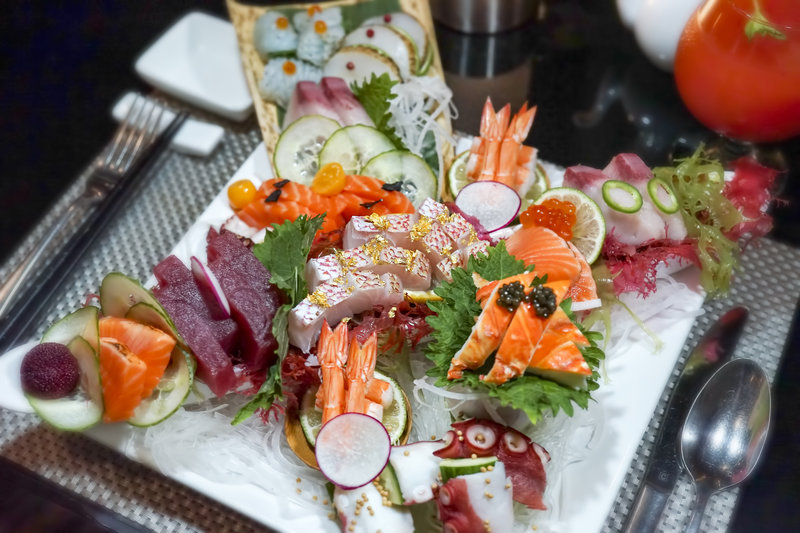 CuisinArt Golf Resort & Spa.-Tokyo Bay Sashimi<br/>Image from Leonardo