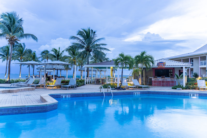 Holiday Inn Resort Grand Cayman-Pool bar, pool and ocean views, beach destination, <br/>Image from Leonardo