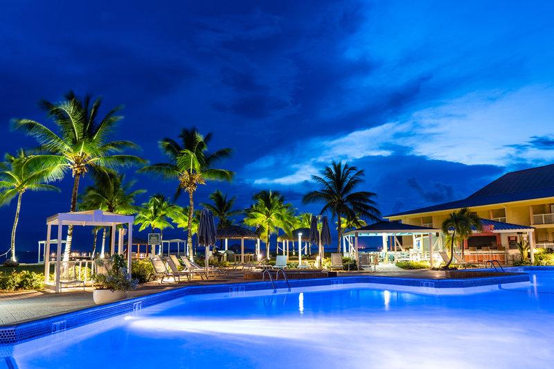 Holiday Inn Resort Grand Cayman-Pool, night swim, paradise, honeymoon, destination wedding<br/>Image from Leonardo