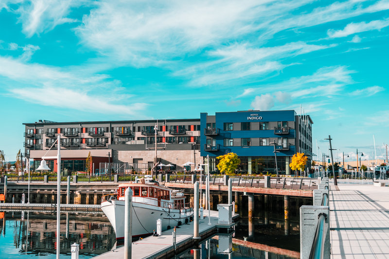 Hotel Indigo Seattle Everett Waterfront-Courtesy of Port of Everett<br/>Image from Leonardo
