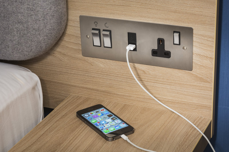 Holiday Inn Express Derry Londonderry-Stay connected with conveniently place charging points.<br/>Image from Leonardo