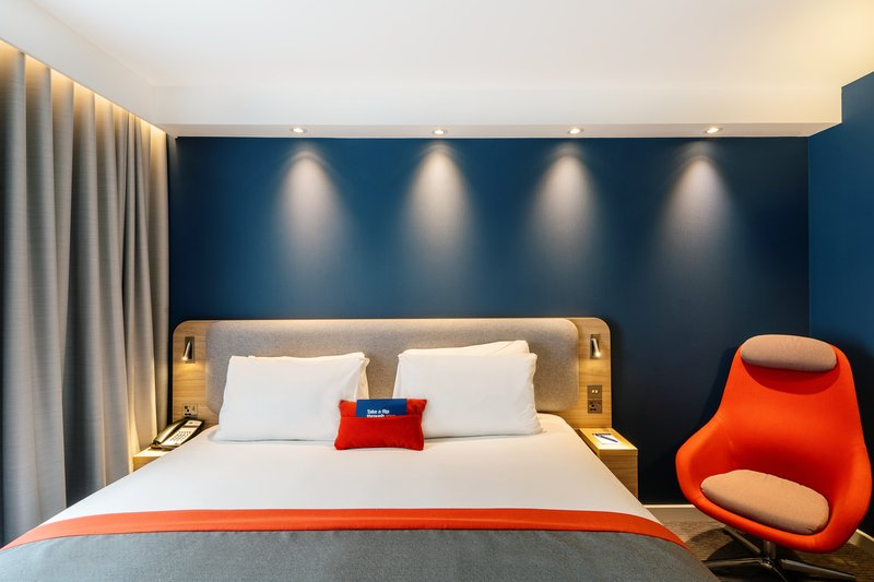 Holiday Inn Express Derry Londonderry-Double Bed Guest Room<br/>Image from Leonardo