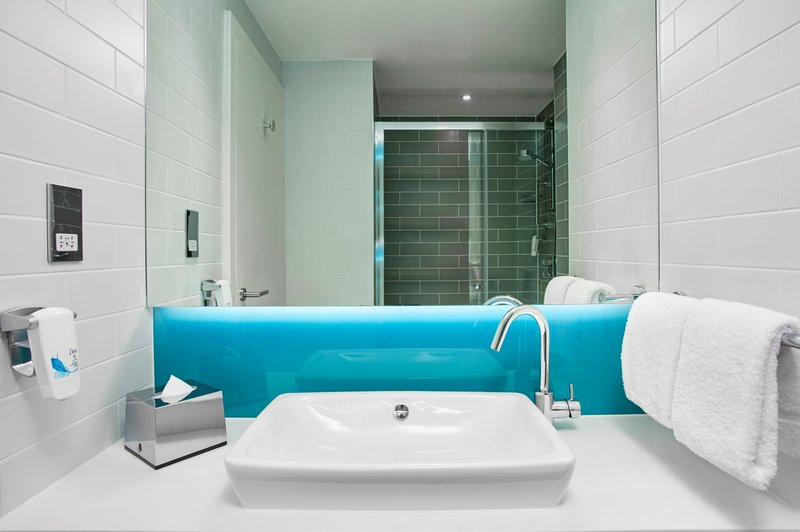 Holiday Inn Express Derry Londonderry-Guest Bathroom<br/>Image from Leonardo
