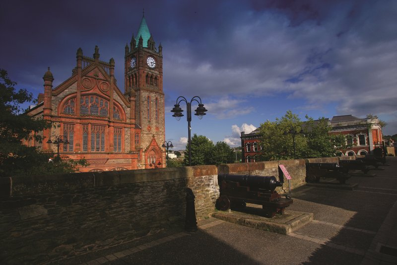 Holiday Inn Express Derry Londonderry-Take in the history at the Guildhall<br/>Image from Leonardo