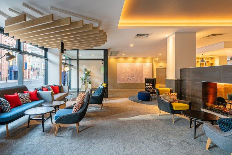 Holiday Inn Express Derry Londonderry-Hotel Lobby<br/>Image from Leonardo
