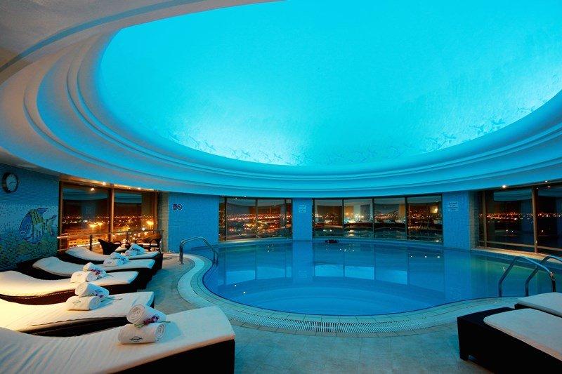 Millennium Doha - Indoor Pool Millennium Hotel Doha <br/>Image from Leonardo