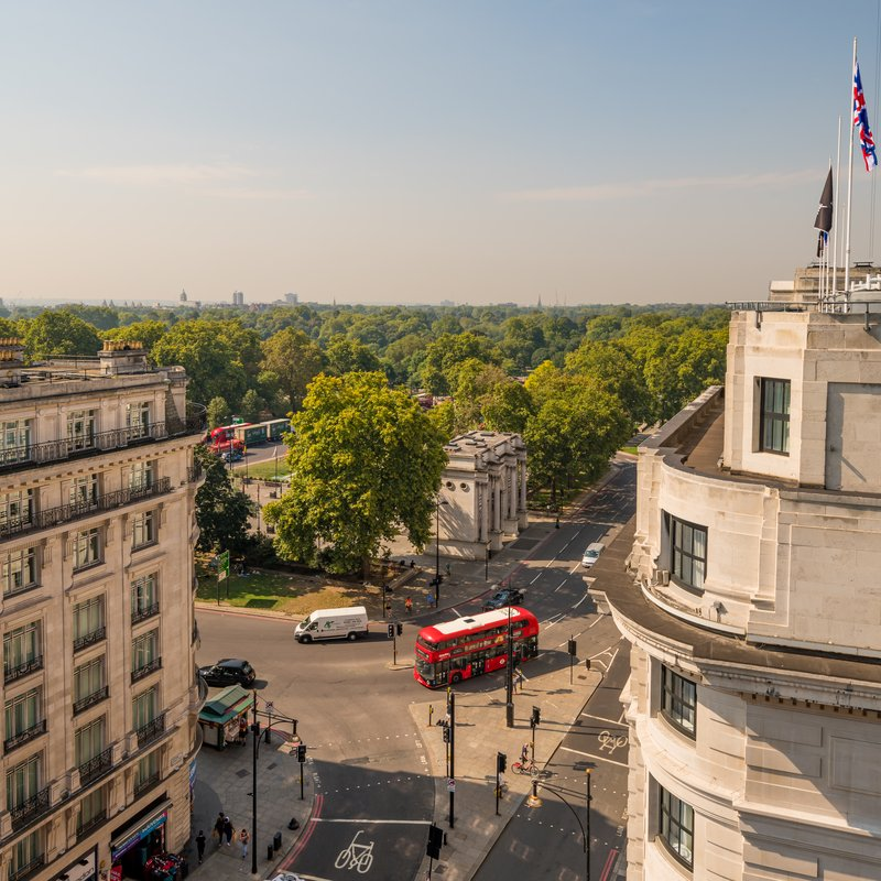 AMBA Hotel Marble Arch-Marble Arch Roof View<br/>Image from Leonardo