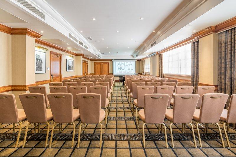 AMBA Hotel Marble Arch-Bond Street Meeting Room<br/>Image from Leonardo