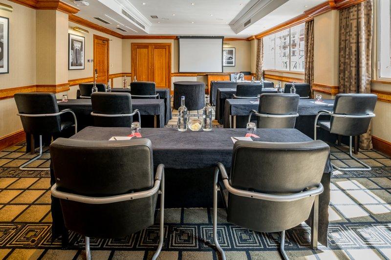 AMBA Hotel Marble Arch-Marylebone Meeting Room<br/>Image from Leonardo