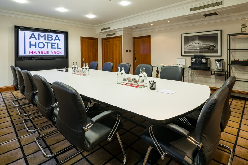 AMBA Hotel Marble Arch-Westminster Meeting Room<br/>Image from Leonardo