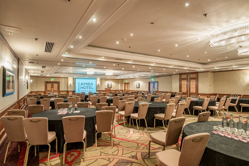 AMBA Hotel Marble Arch-Hyde Park Meeting Room<br/>Image from Leonardo
