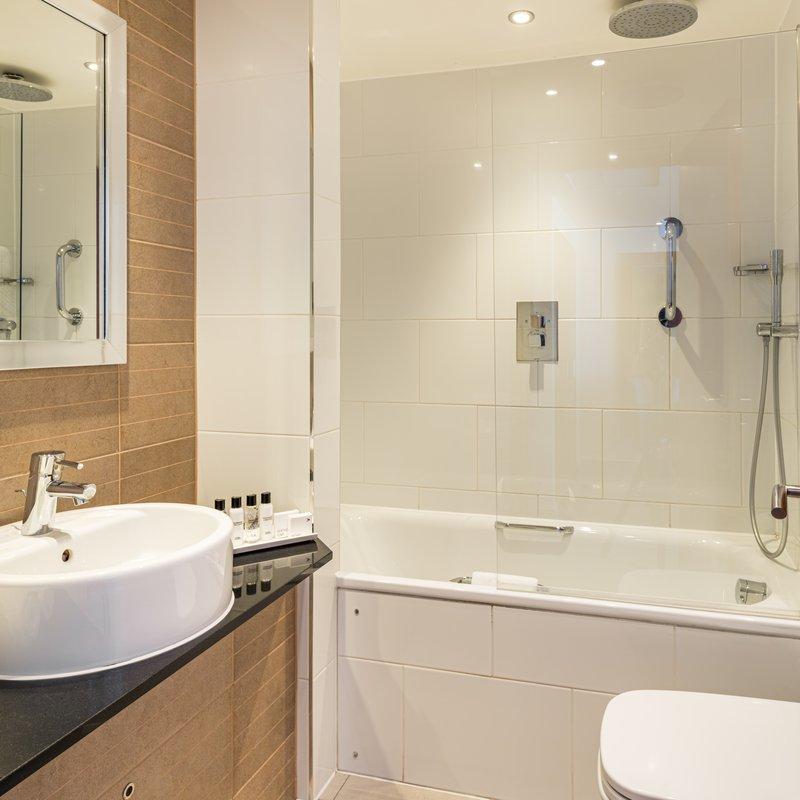 AMBA Hotel Marble Arch-Marble Arch Bathroom<br/>Image from Leonardo