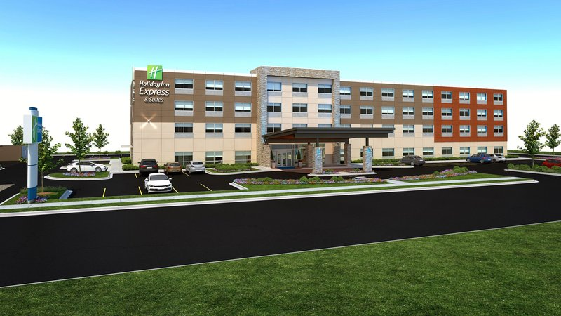 Holiday Inn Express And Suites West Omaha - Elkhorn-Hotel Exterior<br/>Image from Leonardo