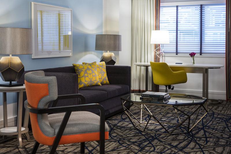 Kimpton Hotel Palomar DC - Suite Living Room <br/>Image from Leonardo