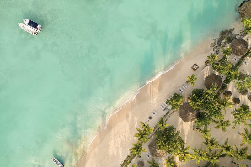 Hilton La Romana, an All Inclusive Adult Rst - Hilton la Romana Aerial Beach Views <br/>Image from Leonardo