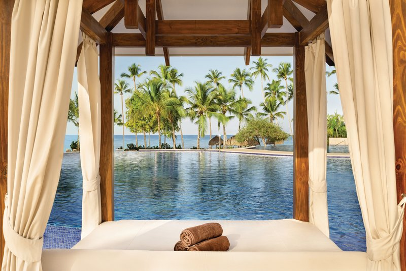 Hilton La Romana, an All Inclusive Adult Rst - Infinity Pool Cabana <br/>Image from Leonardo