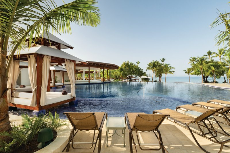 Hilton La Romana, an All Inclusive Adult Rst - Infinity Pool Swim-up Bar <br/>Image from Leonardo