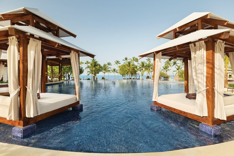 Hilton La Romana, an All Inclusive Adult Rst - Infinity Pool Cabanas <br/>Image from Leonardo