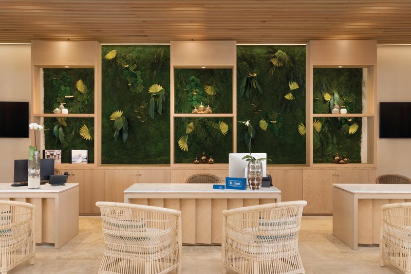 Hilton La Romana, an All Inclusive Adult Rst - Lobby Concierge Desk <br/>Image from Leonardo