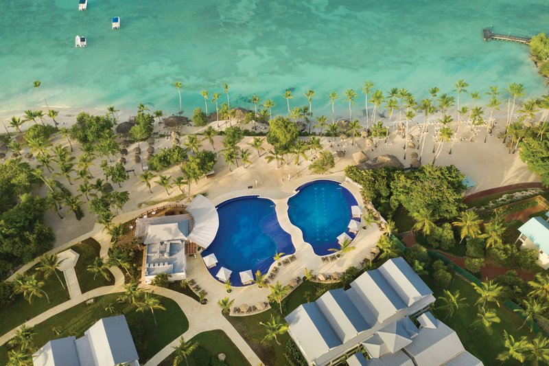 Hilton La Romana, an All Inclusive Adult Rst - Aerial Pool and Beach <br/>Image from Leonardo