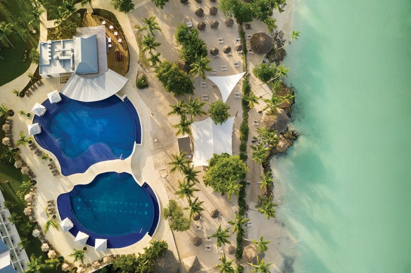 Hilton La Romana, an All Inclusive Adult Rst - Aerial Infinity Pool and Beach <br/>Image from Leonardo