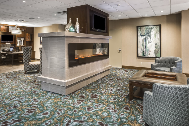 Holiday Inn Rock Island - Quad Cities-Relax by the fire or conduct business in our lobby at Holiday Inn<br/>Image from Leonardo