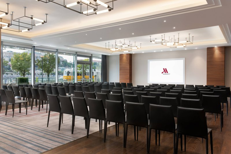 Budapest Marriott Hotel-View 7-8 - Theater Setup<br/>Image from Leonardo
