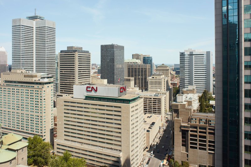 Montreal Marriott Chateau Champlain-High Floor East Facing - City View<br/>Image from Leonardo