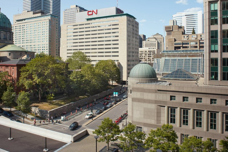 Montreal Marriott Chateau Champlain-Low Floor East Facing - City View<br/>Image from Leonardo