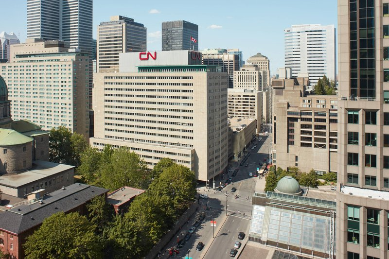 Montreal Marriott Chateau Champlain-Mid Floor East Facing - City View<br/>Image from Leonardo