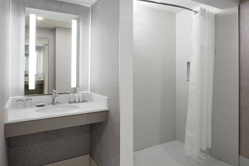 Montreal Marriott Chateau Champlain-Accessible Bathroom<br/>Image from Leonardo