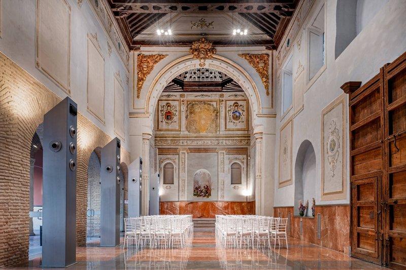 Autograph Collection Hotel Palacio De Santa Paula-Gran Forum Meeting Room<br/>Image from Leonardo