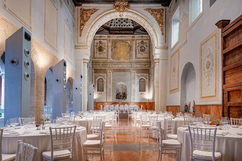 Autograph Collection Hotel Palacio De Santa Paula-Gran Forum Meeting Room - Banquet Setup<br/>Image from Leonardo