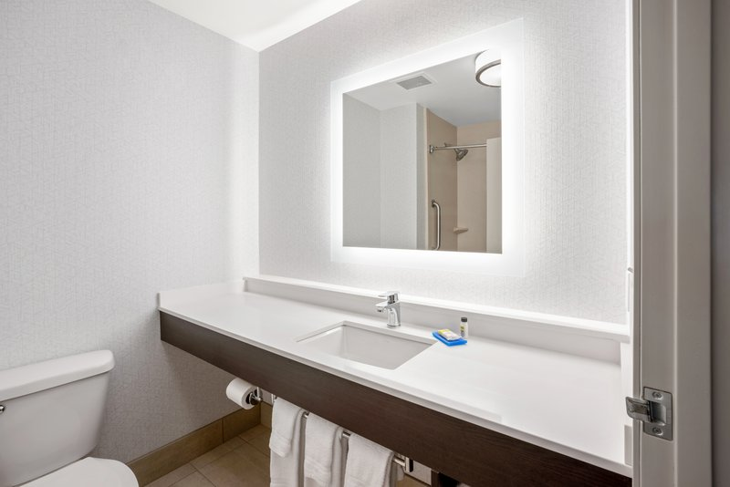 Holiday Inn Express & Suites Marysville-Guest Bathroom <br/>Image from Leonardo
