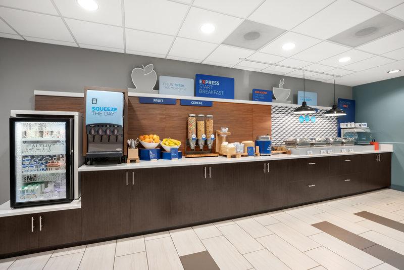 Holiday Inn Express & Suites Marysville-Breakfast Bar <br/>Image from Leonardo