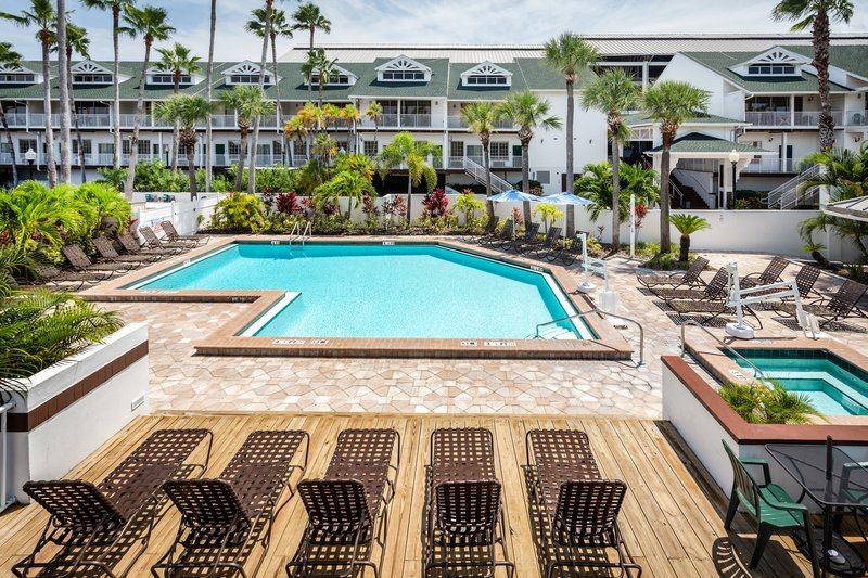 Holiday Inn & Suites Clearwater Beach S Harbour-Soak up some sun at our Garden Pool and Jacuzzi. <br/>Image from Leonardo